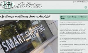 Website Design for eGe' Boutique